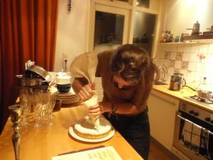 Janna maakt citroen meringue