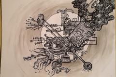 Space doodle 1